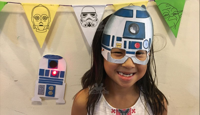 Star Wars Little Juniors Camp (June - August 2018) - CodeJuniors